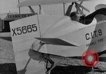 Image of biplane Los Angeles California USA, 1928, second 24 stock footage video 65675072951