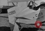 Image of biplane Los Angeles California USA, 1928, second 25 stock footage video 65675072951