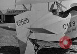 Image of biplane Los Angeles California USA, 1928, second 27 stock footage video 65675072951