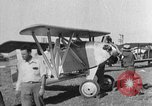 Image of biplane Los Angeles California USA, 1928, second 40 stock footage video 65675072951