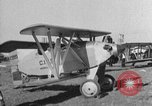 Image of biplane Los Angeles California USA, 1928, second 44 stock footage video 65675072951