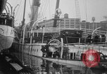 Image of Burned Presidential yacht Mayflower Philadelphia Pennsylvania USA, 1931, second 10 stock footage video 65675072969