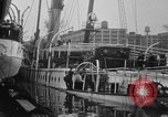 Image of Burned Presidential yacht Mayflower Philadelphia Pennsylvania USA, 1931, second 11 stock footage video 65675072969