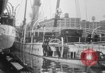 Image of Burned Presidential yacht Mayflower Philadelphia Pennsylvania USA, 1931, second 15 stock footage video 65675072969
