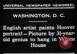 Image of artist paints Washington DC USA, 1931, second 3 stock footage video 65675072971
