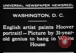 Image of artist paints Washington DC USA, 1931, second 4 stock footage video 65675072971