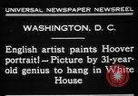 Image of artist paints Washington DC USA, 1931, second 6 stock footage video 65675072971