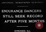 Image of Endurance dancing contest Chicago Illinois USA, 1931, second 1 stock footage video 65675072975