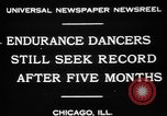 Image of Endurance dancing contest Chicago Illinois USA, 1931, second 5 stock footage video 65675072975