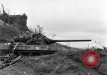 Image of US armor and infantry advancing in Ryukyu Campaign Pacific Theater, 1945, second 13 stock footage video 65675072977