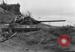 Image of US armor and infantry advancing in Ryukyu Campaign Pacific Theater, 1945, second 19 stock footage video 65675072977