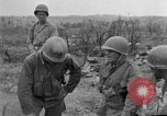 Image of US armor and infantry advancing in Ryukyu Campaign Pacific Theater, 1945, second 34 stock footage video 65675072977