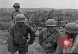 Image of US armor and infantry advancing in Ryukyu Campaign Pacific Theater, 1945, second 38 stock footage video 65675072977