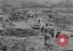 Image of US armor and infantry advancing in Ryukyu Campaign Pacific Theater, 1945, second 50 stock footage video 65675072977