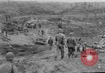 Image of US armor and infantry advancing in Ryukyu Campaign Pacific Theater, 1945, second 52 stock footage video 65675072977