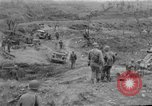 Image of US armor and infantry advancing in Ryukyu Campaign Pacific Theater, 1945, second 53 stock footage video 65675072977
