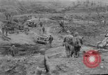 Image of US armor and infantry advancing in Ryukyu Campaign Pacific Theater, 1945, second 54 stock footage video 65675072977