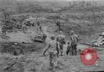 Image of US armor and infantry advancing in Ryukyu Campaign Pacific Theater, 1945, second 55 stock footage video 65675072977