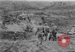 Image of US armor and infantry advancing in Ryukyu Campaign Pacific Theater, 1945, second 56 stock footage video 65675072977