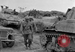 Image of US armor and infantry advancing in Ryukyu Campaign Pacific Theater, 1945, second 58 stock footage video 65675072977