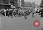Image of allied prisoners Paris France, 1944, second 4 stock footage video 65675072986