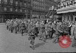 Image of allied prisoners Paris France, 1944, second 57 stock footage video 65675072986
