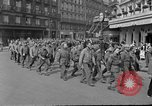 Image of allied prisoners Paris France, 1944, second 60 stock footage video 65675072986