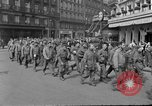Image of allied prisoners Paris France, 1944, second 61 stock footage video 65675072986