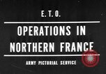 Image of Allied Invasion France, 1944, second 1 stock footage video 65675073005