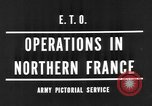 Image of Allied Invasion France, 1944, second 7 stock footage video 65675073005