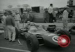 Image of Formula One 100 mile car race Trenton New Jersey USA, 1965, second 9 stock footage video 65675073014