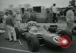 Image of Formula One 100 mile car race Trenton New Jersey USA, 1965, second 10 stock footage video 65675073014