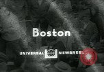 Image of National basketball Match Boston Massachusetts USA, 1965, second 1 stock footage video 65675073015