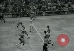 Image of National basketball Match Boston Massachusetts USA, 1965, second 7 stock footage video 65675073015