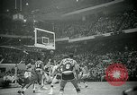 Image of National basketball Match Boston Massachusetts USA, 1965, second 23 stock footage video 65675073015