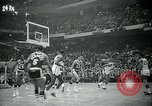 Image of National basketball Match Boston Massachusetts USA, 1965, second 24 stock footage video 65675073015