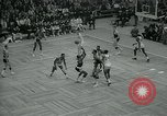 Image of National basketball Match Boston Massachusetts USA, 1965, second 34 stock footage video 65675073015