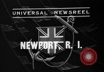 Image of Endeavour I sail boat being towed Newport Rhode Island USA, 1937, second 4 stock footage video 65675073026