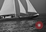 Image of Endeavour I sail boat being towed Newport Rhode Island USA, 1937, second 16 stock footage video 65675073026