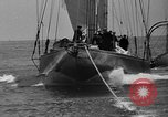 Image of Endeavour I sail boat being towed Newport Rhode Island USA, 1937, second 39 stock footage video 65675073026