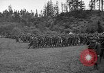 Image of 3rd Army Division troops Fort Lewis Washington USA, 1937, second 12 stock footage video 65675073028