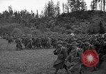 Image of 3rd Army Division troops Fort Lewis Washington USA, 1937, second 13 stock footage video 65675073028
