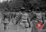 Image of 3rd Army Division troops Fort Lewis Washington USA, 1937, second 25 stock footage video 65675073028