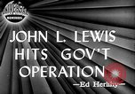 Image of John L Lewis Washington DC USA, 1947, second 6 stock footage video 65675073030
