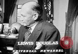 Image of Lewis Douglas Washington DC USA, 1947, second 5 stock footage video 65675073032