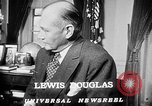 Image of Lewis Douglas Washington DC USA, 1947, second 6 stock footage video 65675073032