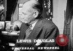 Image of Lewis Douglas Washington DC USA, 1947, second 7 stock footage video 65675073032