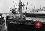 Image of arrival of coal Genoa Italy, 1947, second 7 stock footage video 65675073035