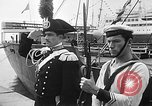 Image of arrival of coal Genoa Italy, 1947, second 25 stock footage video 65675073035