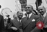 Image of arrival of coal Genoa Italy, 1947, second 36 stock footage video 65675073035
